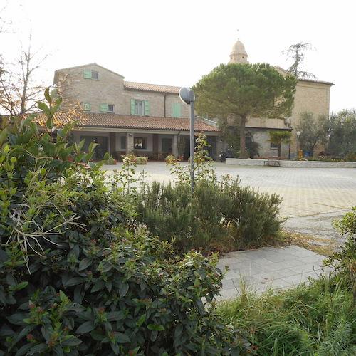 Centro residenziale visto da fuori